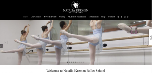 irpr webdesign ballet london