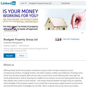 property linkedin irpr